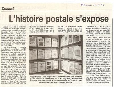 0040 expo poste cusset 1999